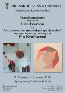2015 Plakat Lørenskog kunstforening