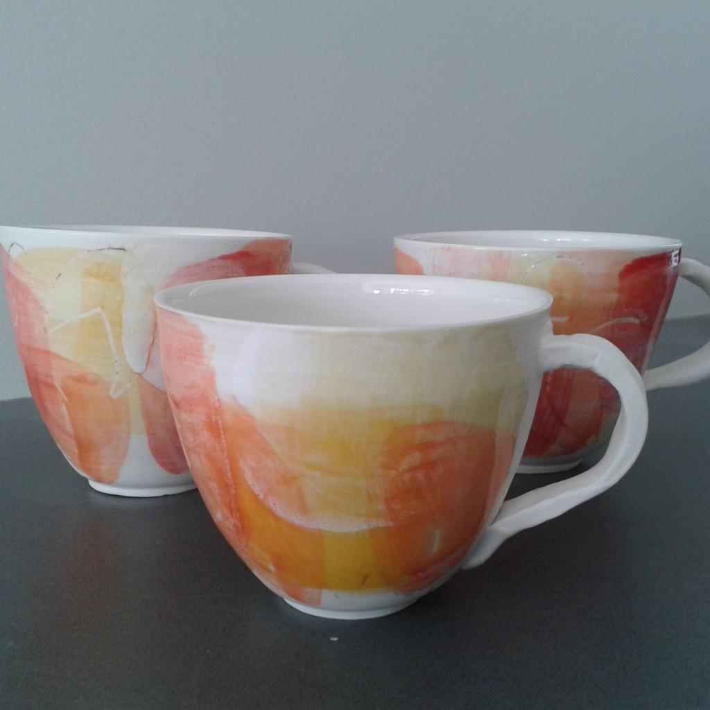 Kopper i porselen