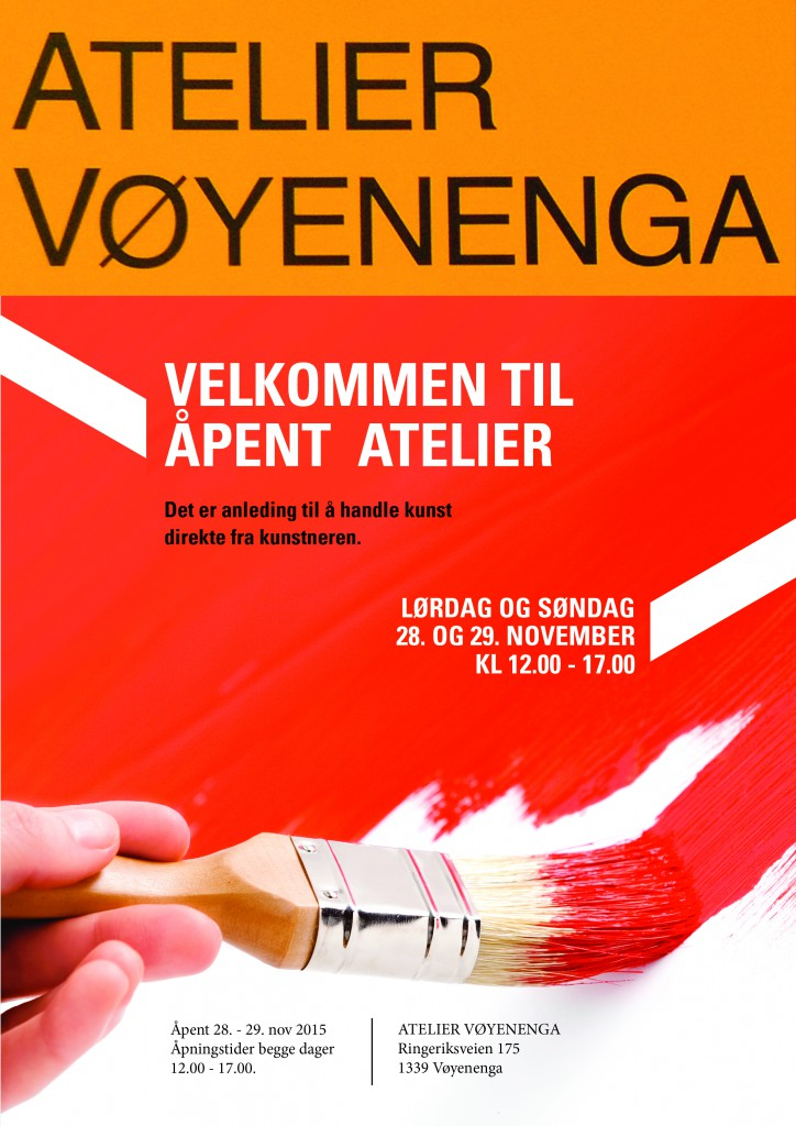 Velkommen til oss på Atelier Vøyenenga.