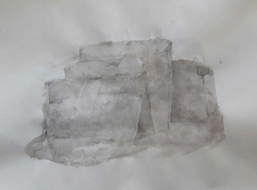 blyant og blekk